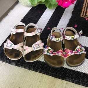Two Pairs Birkenstock's 11 Disney
